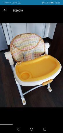 Krzesełko do karmienia firmy GRACO+gratis zabawka przyssawka do krzesł