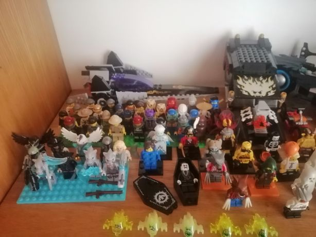 Лего city ,chima,hidden side minifigures минифигурки разных серий