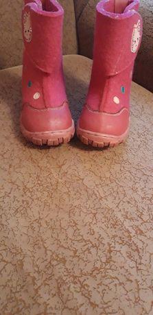 Валенки для девочки Шалунишка 26 размер. 16 см стелька