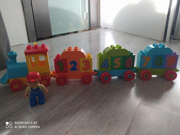 Lego duplo pociąg ciuchcia
