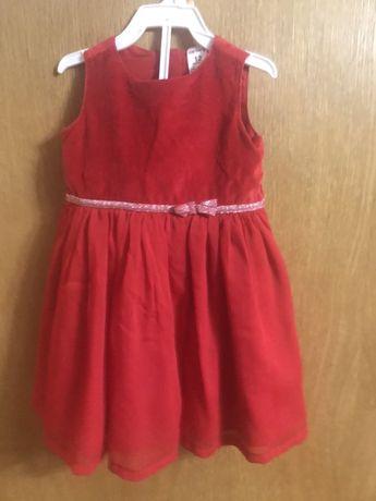Нарядное платье на годик Carter's