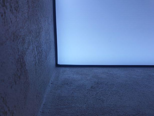 Sufit napinany, Oświetlenie LED, barrisol , malowanie, szpachlowanie