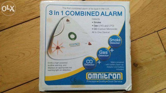 Alarme 3 em 1 dector de FUMO, GAS e CO