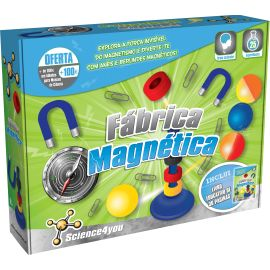 Fábrica Magnética SCIENCE 4 YOU - Novo!!!
