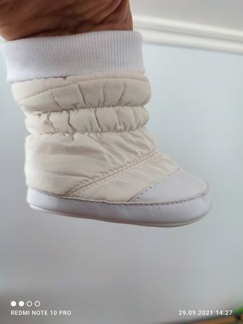 Пінетки-чобітки. Продаю у хорошому стані від своїх діток.  Можлива зни