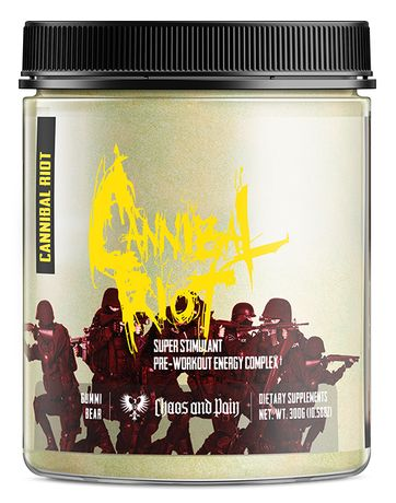 Cannibal Riot 312g USA Pre Workout Mocna Przetreningówka+GRATIS