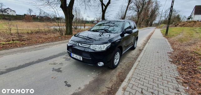 Mitsubishi Outlander Z Niemiec tempomat podgrz fotele czujnik parkowania alufelgi