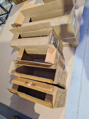 Puste kartony, do wysyłki, zabezpieczen remontu, przeprowadzek