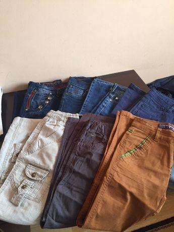 Продам пакет штанов ,рост 120-140 ,турецкие ,фирменные ,