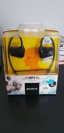 Sony NWZ W273S wodoodporny mp3, sluchawki do plywania, biegania