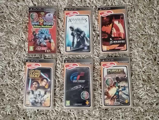 LOTE JOGOS PSP (Invizimals, Gran Turismo, etc)
