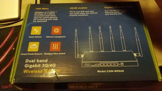 Router z OpenWrt WAN/LAN Gigabit + Modem Quectel EC25 LTE