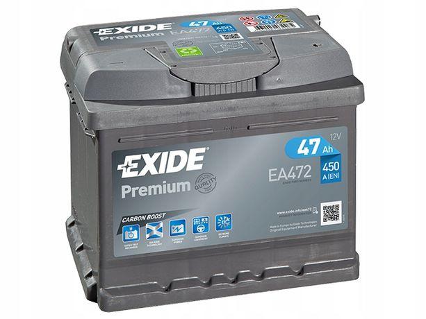 Akumulator EXIDE PREMIUM 47AH 450A 47 AH EA472