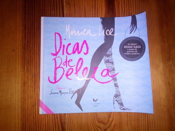 Livro Dicas de Beleza, de Mónica Lice