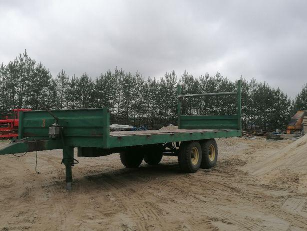 wóz sadowniczy przyczepa rolna platforma