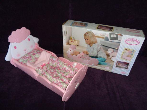 BABY ANNABELL oryg. łóżeczko owieczka dla lalki 793688 Zapf Creation