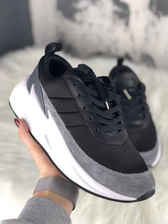 Кроссовки Adidas Sharks Black Grey White
