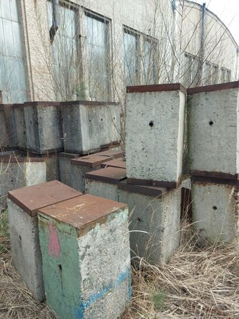 Bloki betonowe balast