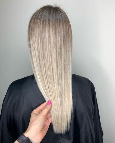 Наращивание волос 1500 грн Харьков Гагарина