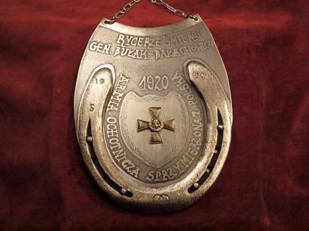 ryngraf do szabel Rycerze Śmierci 1920 r Armii Sprzymierzonej z Polską
