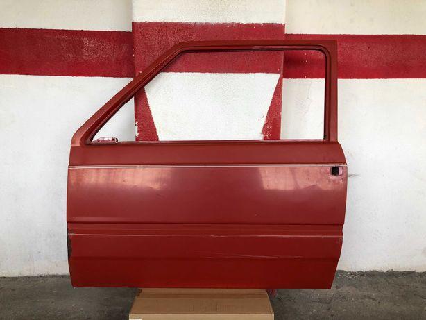 Portas Vermelhas FIAT Panda 750 Fire 1992 Conforme Fotografias