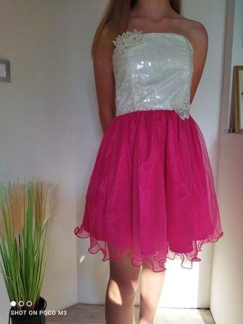 Śliczna sukienka rozm 152