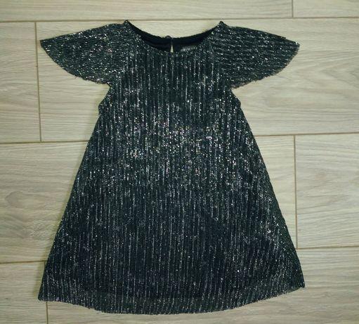 нарядное праздничное новогоднее платье 1,5-2 года