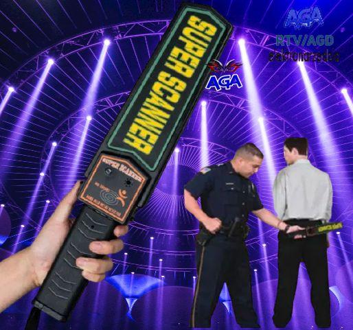 Skaner Wykrywacz Metalu Detektor Przedmiotów Metalowych