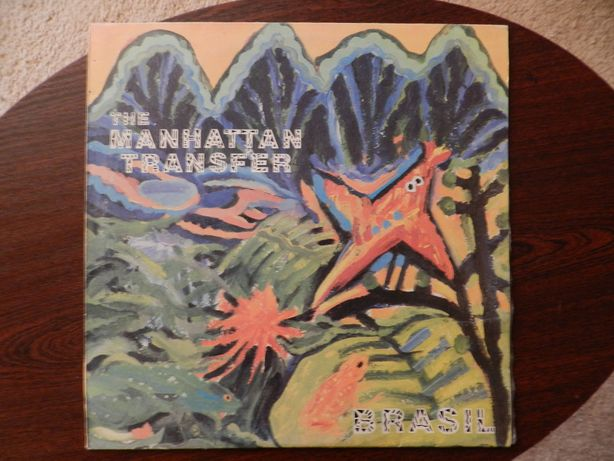 The Manhattan Transfer - Brasil płyta