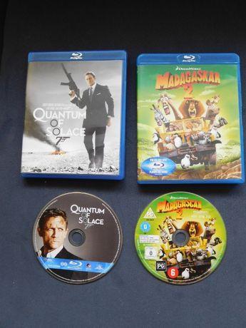 Filmy Blu-ray Madagaskar 2 i James Bond. Quantum Of Solace