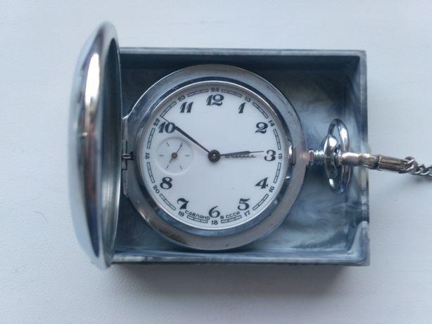 Zegar na łańcuchu. 70-80 lat, XX wiek. Wyprodukowano w ZSRR.