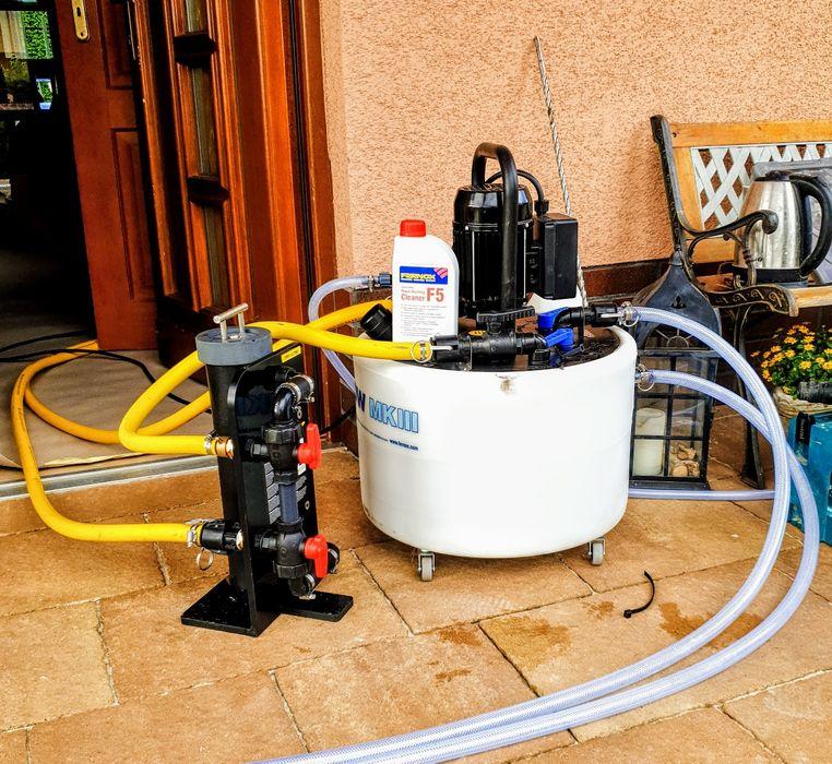 Chemiczne czyszczenie instalacji CO. Odkamienianie instalacji wody. Katowice - image 1