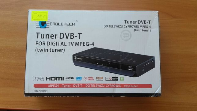 Tuner DVB - T do Telewizji cyfrowej