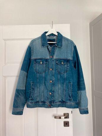 męska kurtka jeansowa niebieska Reserved