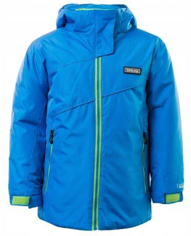 Kurtka dziecięca zimowa narciarska Brugi 3AGS rozm 122-128 niebieska