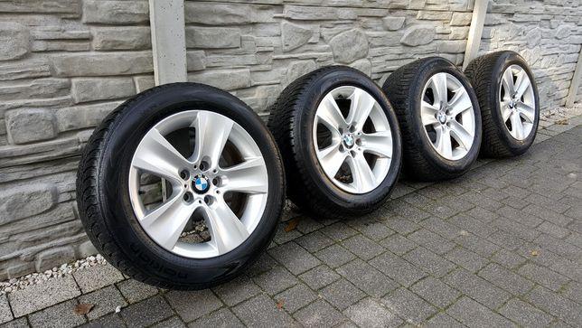 ALUFELGI FELGI BMW F10 F01 E60 5x120 R17 +Opony Zimowe 225/55 PIĘKNE !