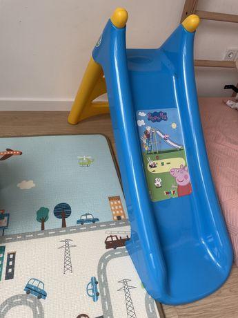 Zjezdzalnia plastykowa Smoby dla dzieci 90cm