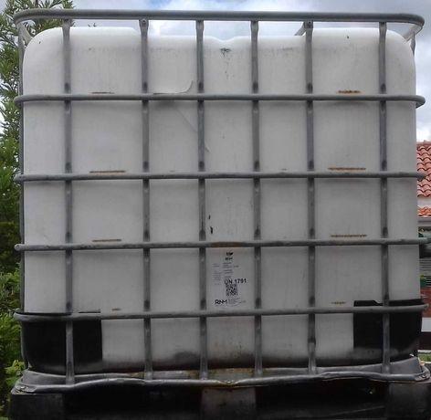 Depósito (cuba) de água usada 1000 litros/1m3