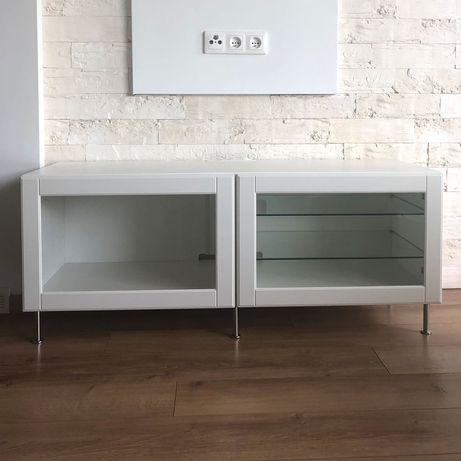Biała szafka RTV - IKEA BESTÅ - 120 cm - w doskonałym stanie