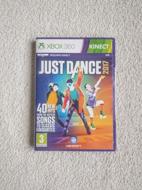 Xbox 360 Just Dance 2017 kinect