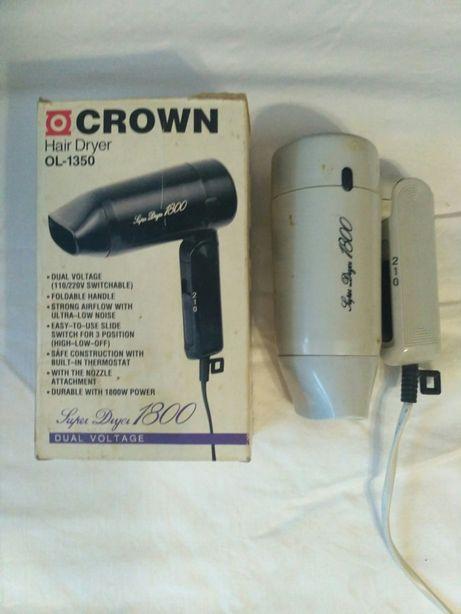 "Фен дорожный ""CROWN Hair Dryer OL-1350"""