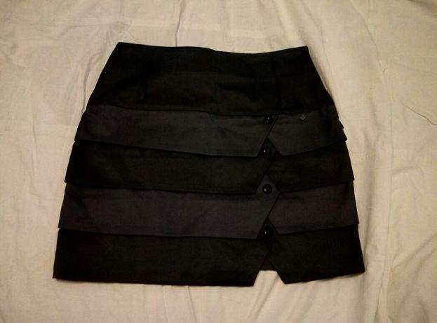Юбка черная для девушки или школьная новая