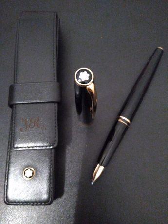 Caneta Montblanc Generation 14k ouro com bolsa autêntica