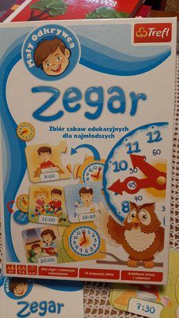 Trefl gra edukacyjna Zegar