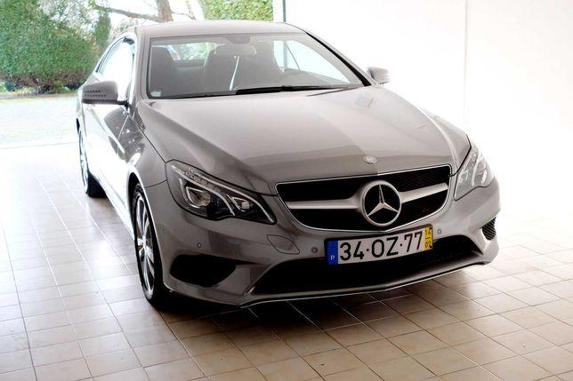 Mercedes E220 CDI Coupe como novo (2014, 140mk)