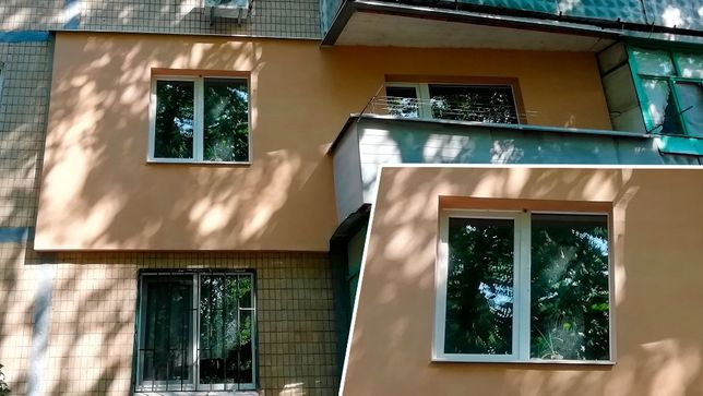 Утепление фасадов квартир в Краматорске