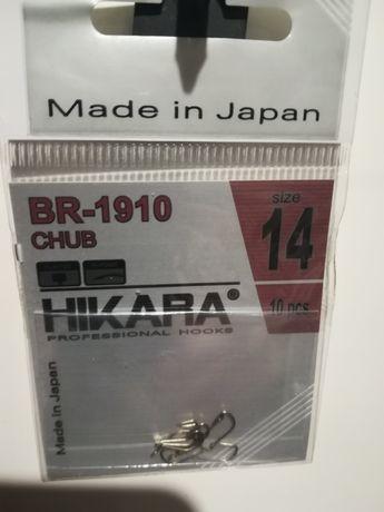 Haczyki HIKARA CHUB Bronze BR-1910, nr 14 i 16
