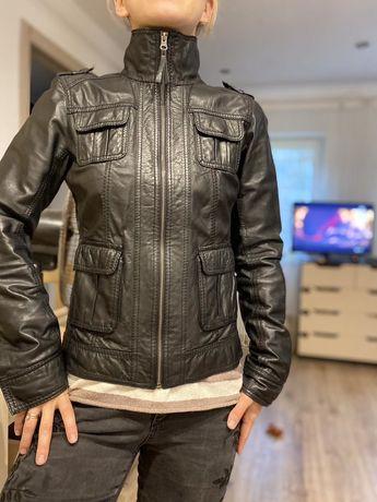 СРОЧНО Кожанка кожаная куртка Tom Tailor оригинал шкіряна куртка