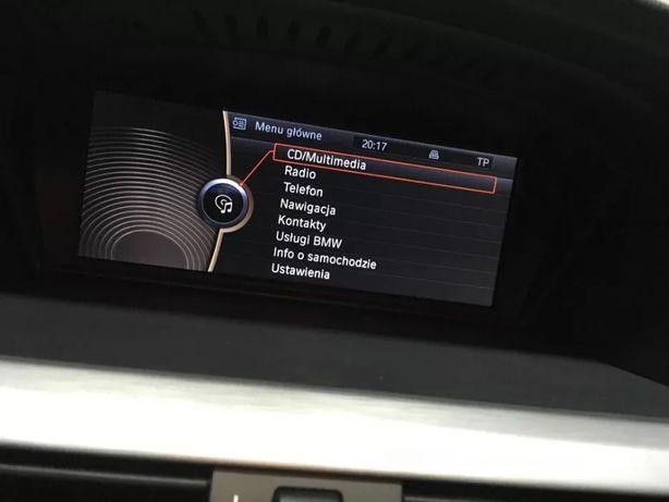 PL menu BMW Professional CIC E87 E90 F10 język polski