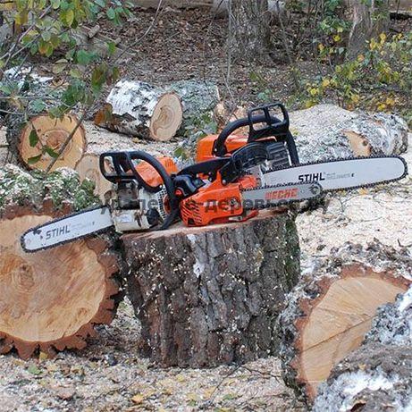 Спилить дерево,Спил,распил сада,деревьев,обрезка веток,омоложение сада